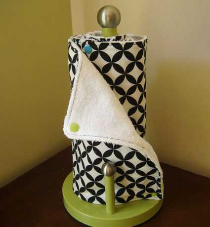 sewing craft reusable paper towels
