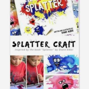 painting for kids splatter craft story time