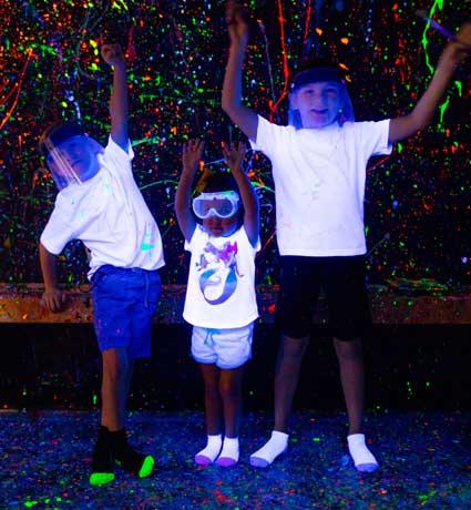 splatter room family fun