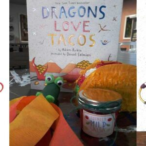 kid craft and story time